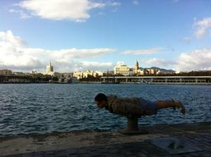 planking Málaga